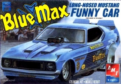 & 1973 Ford Mustang Funny Car u0027Blue Maxu0027 (1/25) (fs) markmcfarlin.com
