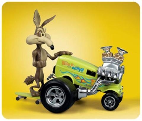 Roadrunner Cartoon Series Wile E Coyote Wile E Willys Fs