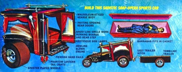 Barnabus Vampire Van With Coffin Trailer 1 25 Fs