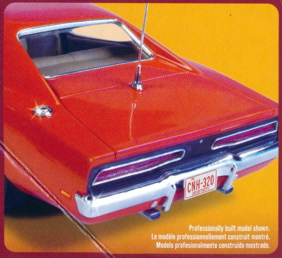 Dukes Of Hazzard General Lee '69 Dodge Charger Snap Kit
