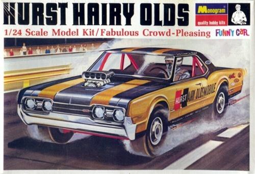 1967 Oldsmobile Hurst Hairy Olds 1 24 Fs