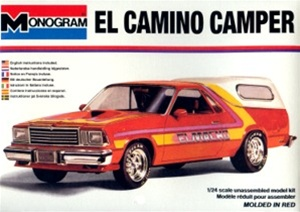 1978 Chevy El Camino Pickup With Custom Camper 1 24 Fs