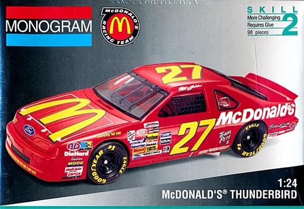 1993 ford thunderbird  u0026 39 mcdonald u0026 39 s u0026 39    27 stricklin or