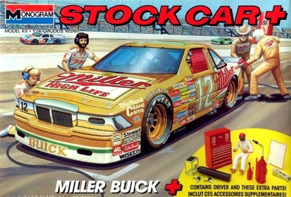 Build A Car From Scratch >> 1989 Buick Regal 'Miller' Stock Car Plus Kit (1/24) (fs)