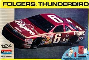1990 Ford Thunderbird Folgers 6 Mark Martin With