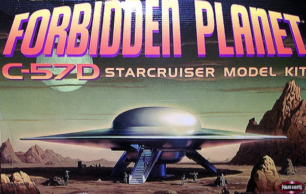 Ray Price Ford >> Forbidden Planet C-57D Starcruiser (1/72) (fs)