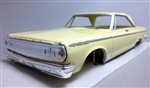 1965 Dodge Coronet Hardtop Pre-painted Butter Cup (1/25) (fs)