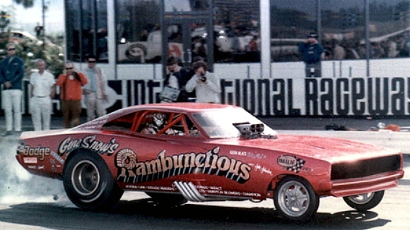 1970 Dodge Charger Gene Snow S Rambunctious Funny Car 1