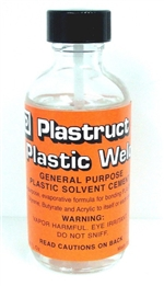 Plastruct Plastic Weld Cement 2oz. bottle