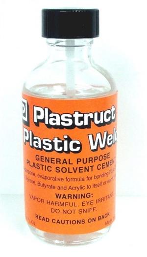 Plastruct Plastic Weld Cement 2oz Bottle