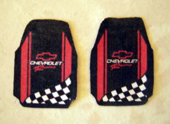 Chevy Racing Car Mat Set 1 25