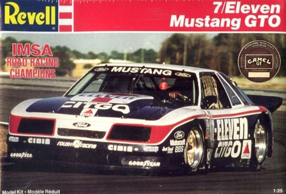 1985 Imsa Quot 7 Eleven Citgo Quot Mustang Gto 7 1 25 Fs