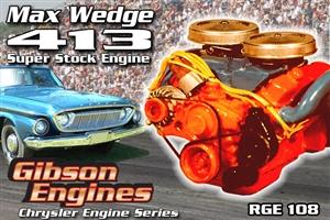 Chrysler 413 Max Wedge Super Stock Engine (1/25) (fs)