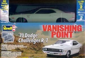 1970 Vanishing Point Dodge Challenger 1 25 Fs Die Cast Kit