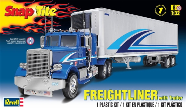 Freightliner With Refrigerated Trailer Snap Kit 1 32 Fs