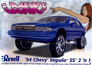 Aftermarket Car Parts >> 1994 Chevy Impala SS (2 'n 1) Donk or Stock (1/25) (fs)