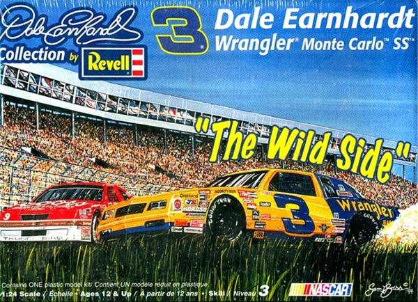 1987 Wrangler 3 Dale Earnhardt Wild Side Pass In The