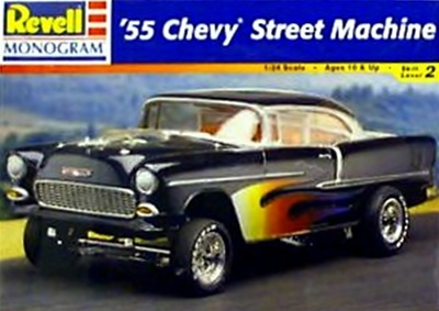 1955 Chevy Street Machine 1 24 Fs