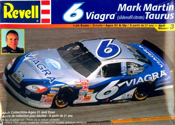 Viagra Jacket Mark Martin