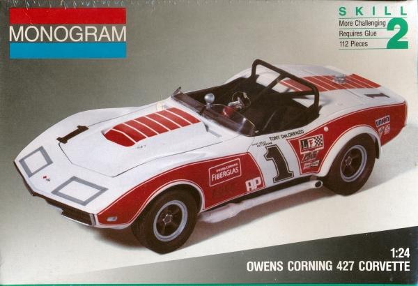 1969 Corvette Quot Owens Corning Quot 427 Coupe 1 25 Fs