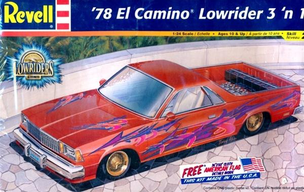 1978 El Camino Lowrider 3 N 1 1 24 Fs