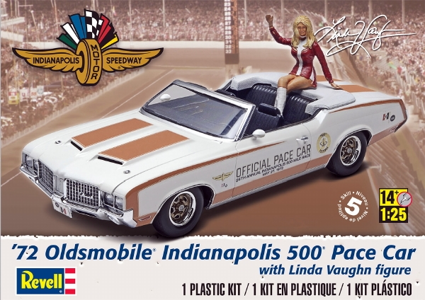 Kit Car Manufacturers >> 1972 Olds Indy 500 Pace Car w/ Figure (1/25) (fs)