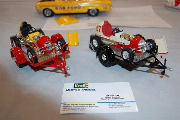 kurtis kraft edelbrock midget racer with trailer 1  25  fs