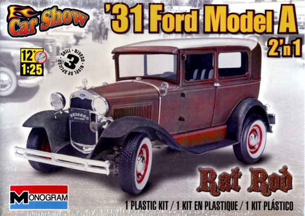 & 1931 Ford Model A Rat Rod 2 u0027n 1 (1/25) (fs) markmcfarlin.com