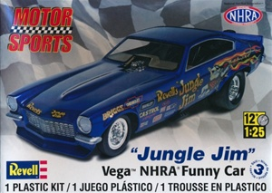 Jungle Jim Vega NHRA Funny Car  (1/25) (fs)