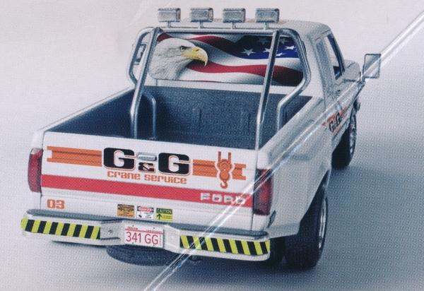"Fuel Dually Wheels >> 1991 Ford F-350 ""Duallie"" Pickup (1/24) (fs)"