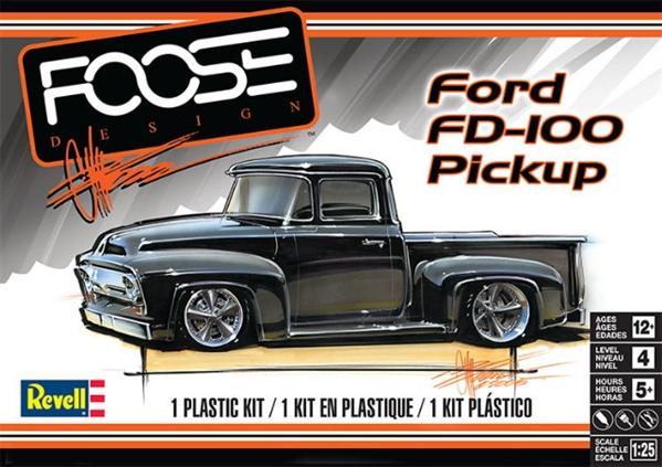 1956 Ford Quot Chip Foose Designs Quot Fd 100 Pickup 1 25 Fs