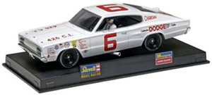 1966 Dodge Charger David Pearson # 6 Slot Car (1/32) (fs)