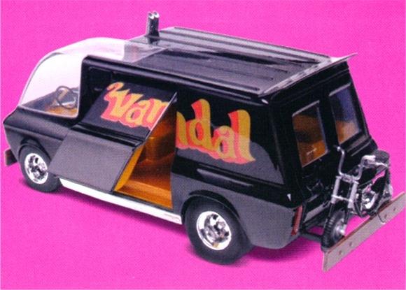 Aftermarket Car Parts >> Tom Daniel Vandal Show Truck With Mini-Bike (1/24) (fs)