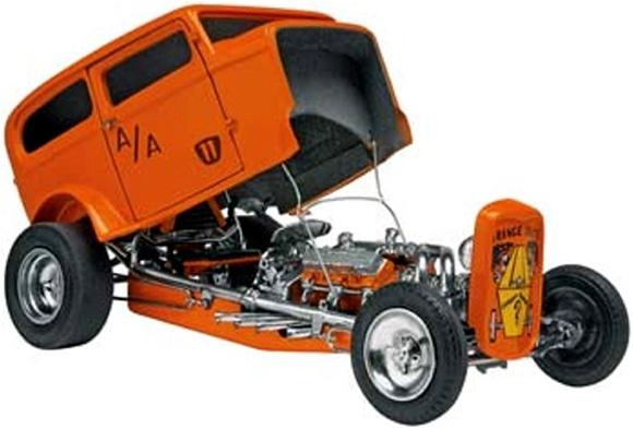 Orange Crate 1932 Ford Altered Sedan By Bob Tindle 1 25 Fs