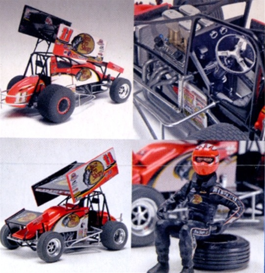 Steve Kinser 11 Bass Pro Shops Sprint Car 1 24 Fs