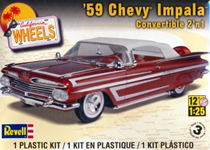 1959 Chevrolet Impala Convertible (2 'n 1) Stock or Custom (1/25) (fs)