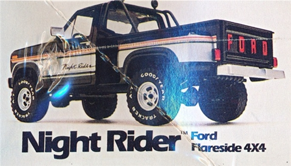 1980 Ford F 150 Flareside Quot Night Rider Quot 4 X 4 Pickup Snap