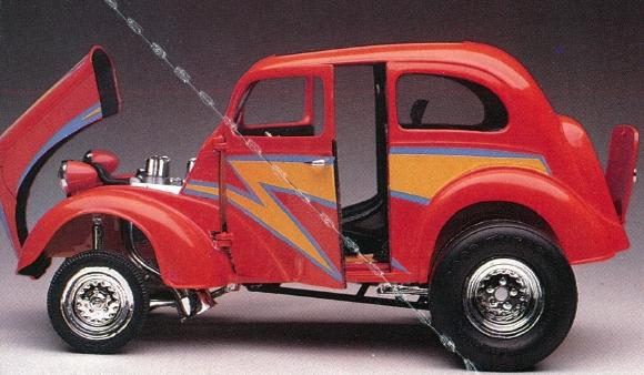 & 1951 Ford Anglia Gasser Lightning Rod (1/25) (fs) markmcfarlin.com