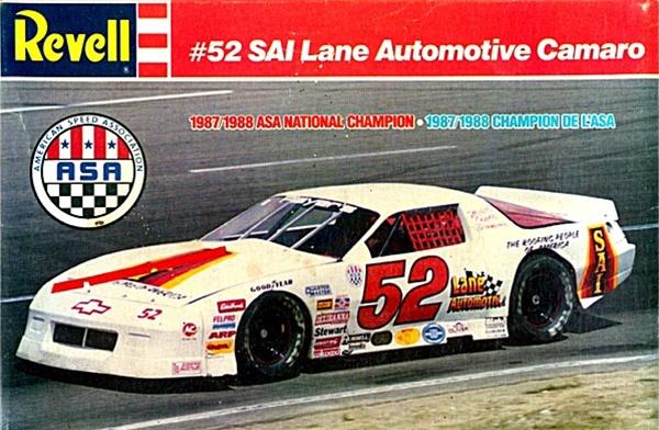ASA 1988 SAI Lane Automotive ASA Camaro 52 Butch