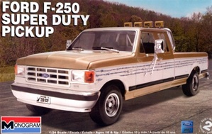 1991 Ford F-250 Super Duty Pickup Truck (1/24) (fs)