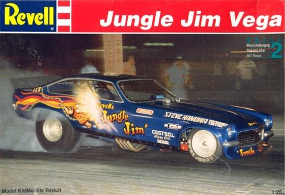 1975 Jungle Jim Vega Funny Car 1 25 Fs
