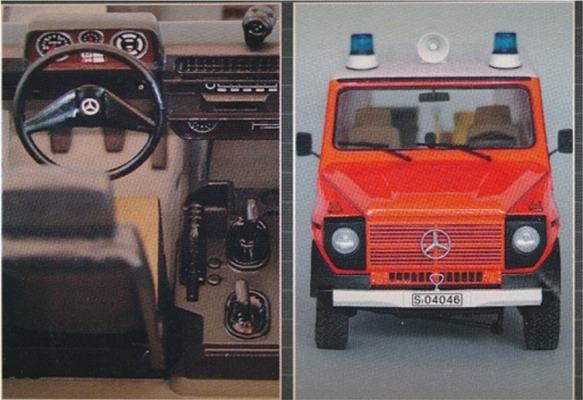 Mercedes benz 230g fire brigade 1 24 for Mercedes benz model codes