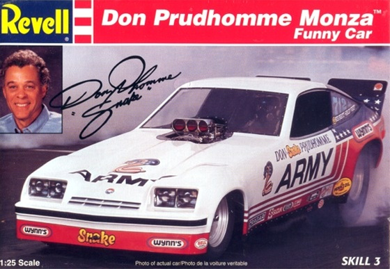 1976 Don Prudhomme Army Monza Funny Car 1 25 Fs