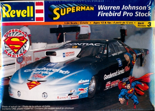 Pontiac Firebird Pro Stock Warren Johnson S Superman 1