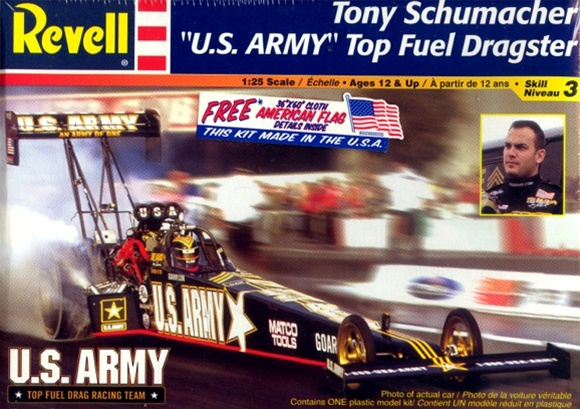 Us Army Tony Schumacher Top Fuel Dragster 1 25 Fs