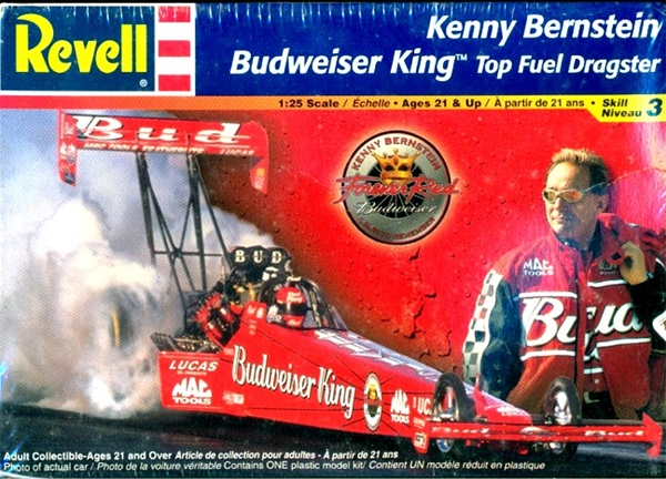 2001 Kenny Bernstein Budweiser King Top Fuel Dragster 1