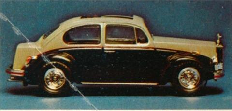 volkswagen beetle george barris kustom rolls  fs