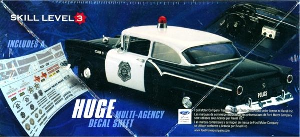 1957 Ford Police Car Private Production 1 Of 3000 1