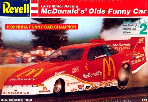 1993 mcdonald u0026 39 s oldsmobile funny car  1  25   fs