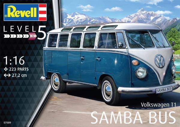 Volkswagen Vw Type 2 T1 Samba Bus 1 16 Fs